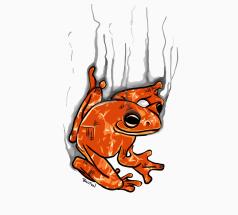 Smouldering Frog